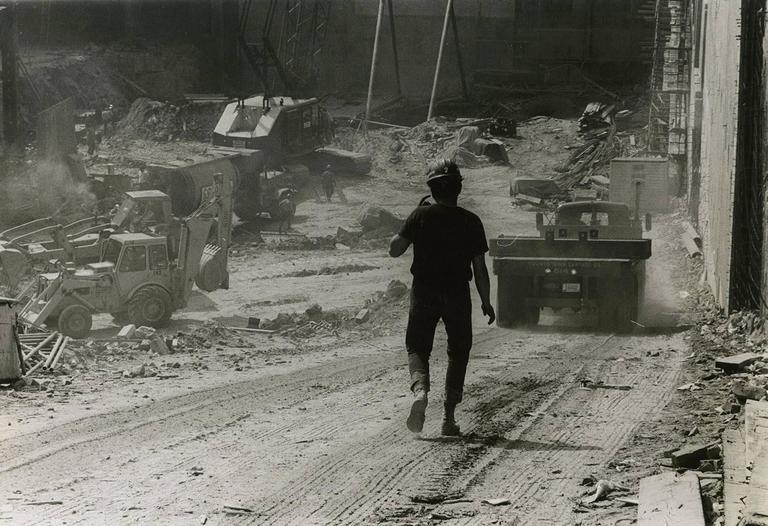 New York City Construction Site