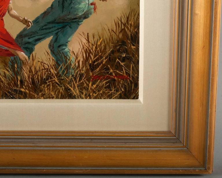 True Strange Marilyn Monroe - Brown Figurative Painting by Tom Beecham