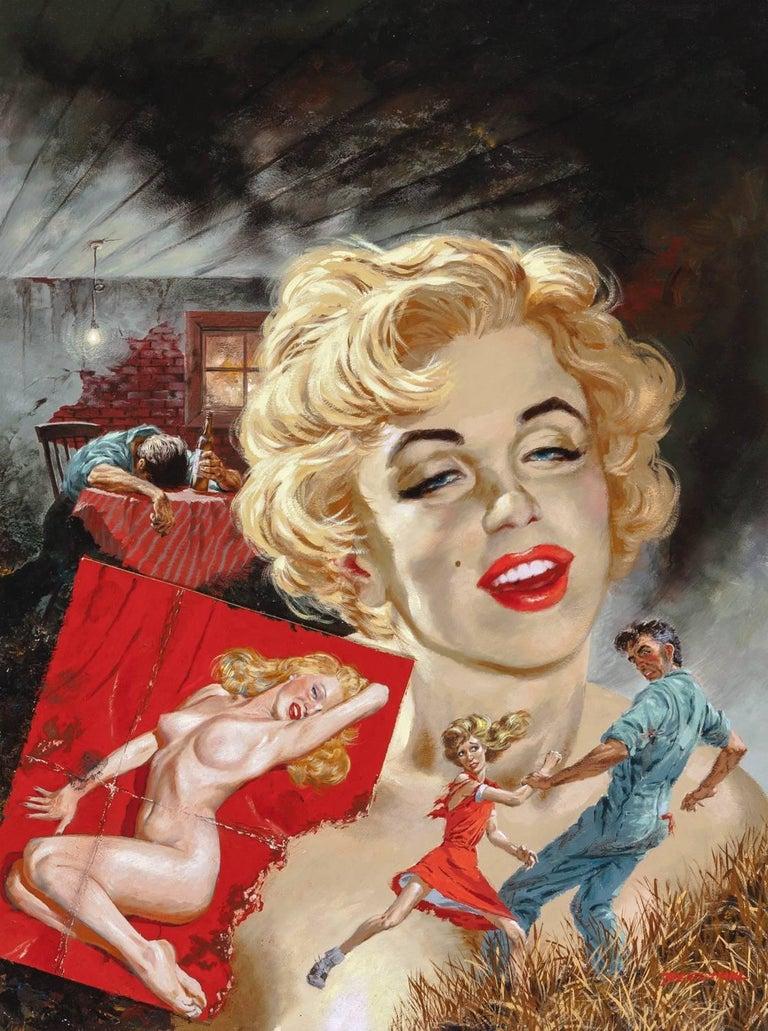 Tom Beecham Figurative Painting - True Strange Marilyn Monroe