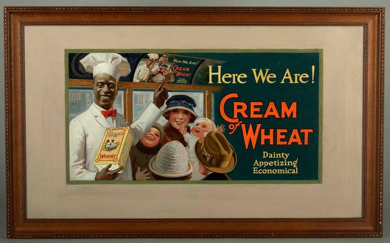 Here We Are ! - Painting by Enoch Bolles