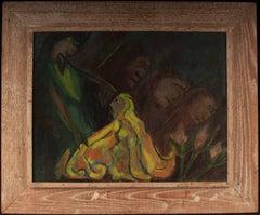 Kneeling Figure in Yellow