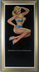 Krome-Oil Pistons Ring Pin-up Girl