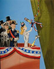 Christening the Ship