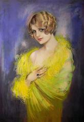 Flapper With Bobbed Hair