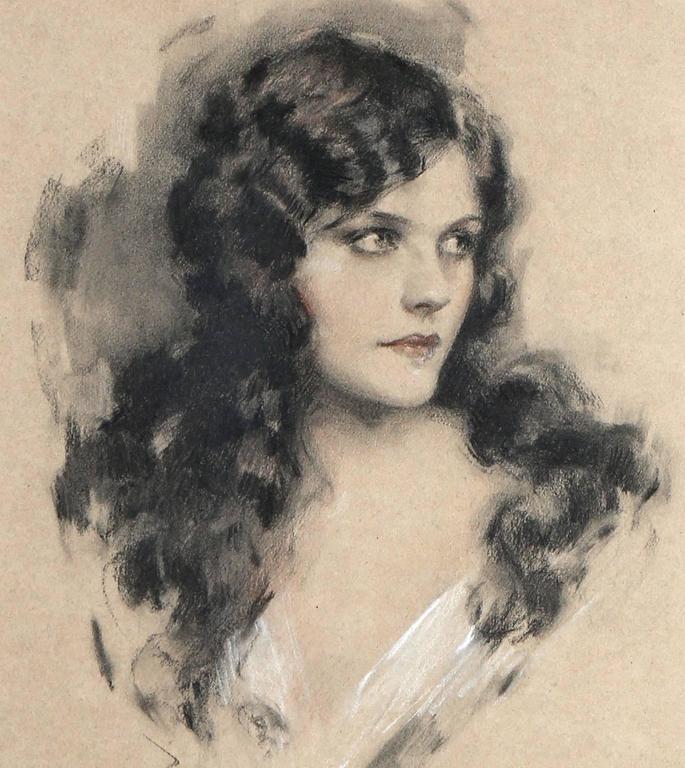 Naomi Johnson Ziegfeld Follies Portrait For Sale 1