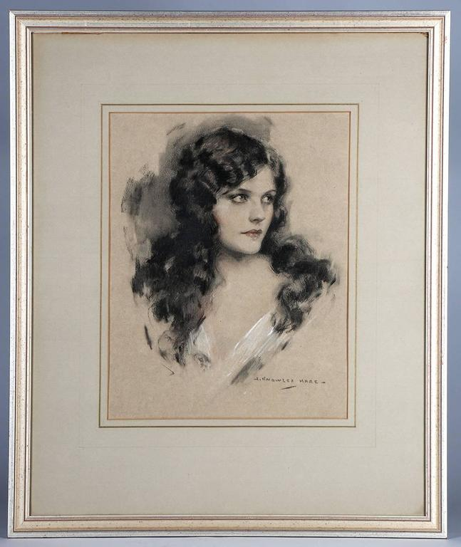 Naomi Johnson Ziegfeld Follies Portrait - Art by John Knowles Hare