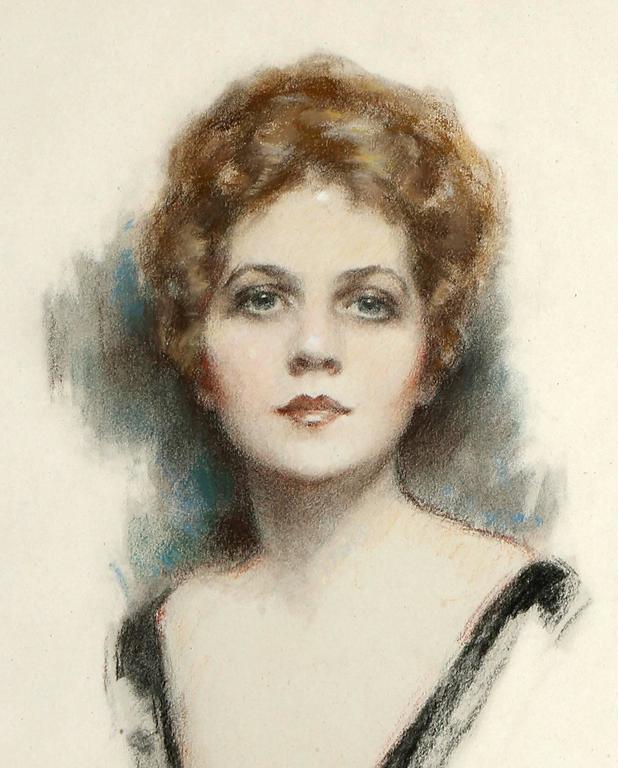 Ziegfeld Follies Beauty Barbara Dean Portrait For Sale 1