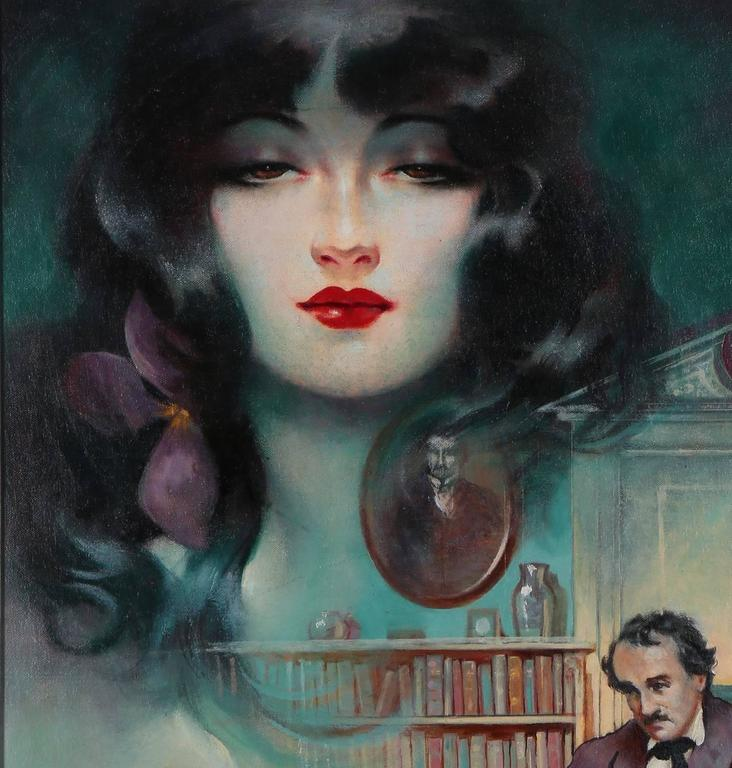 Lenore - Art Deco Painting by Henry Clive