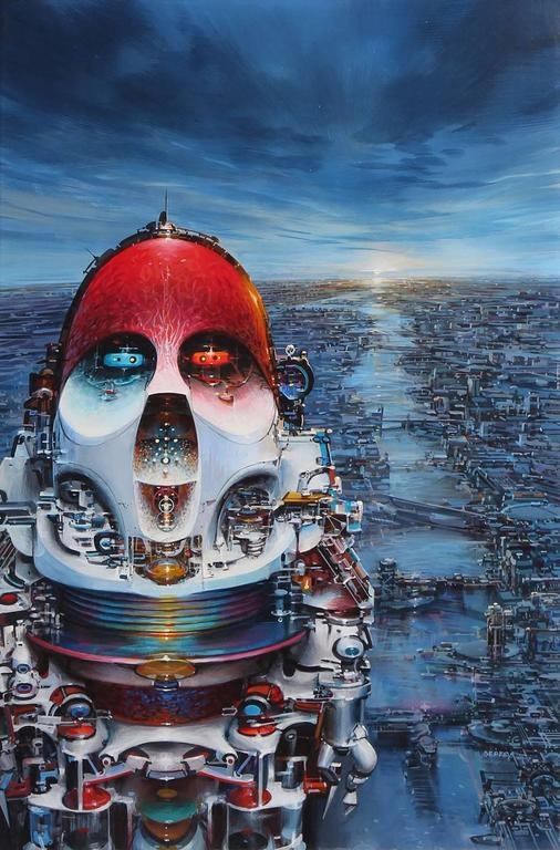 John Berkey Landscape Painting - Immortality Option