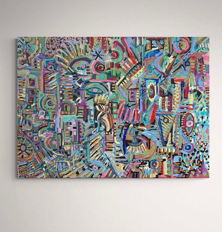 Rupestre, Contemporary Art, Abstract Painting, 21st Century 6