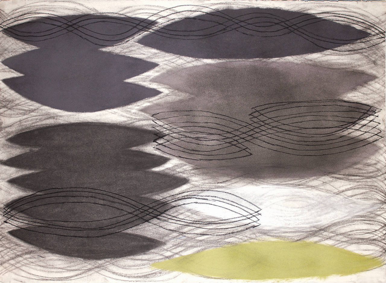 Pierre Mabille Abstract Drawing - NY 13