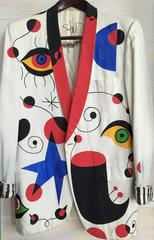 after Miro formal hand painted Jacket