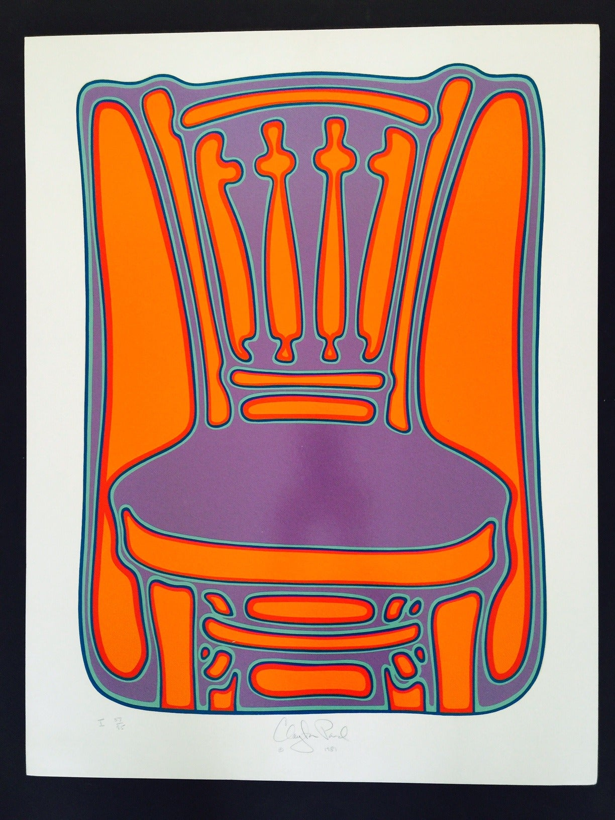 Clayton Pond Chair I Print For Sale At 1stdibs