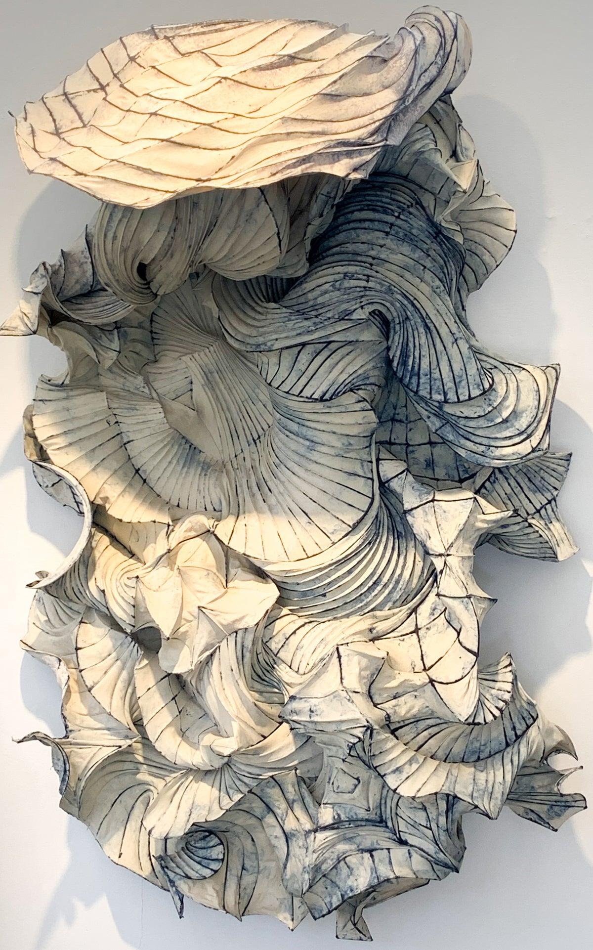 Paper sculpture by Gentenaar