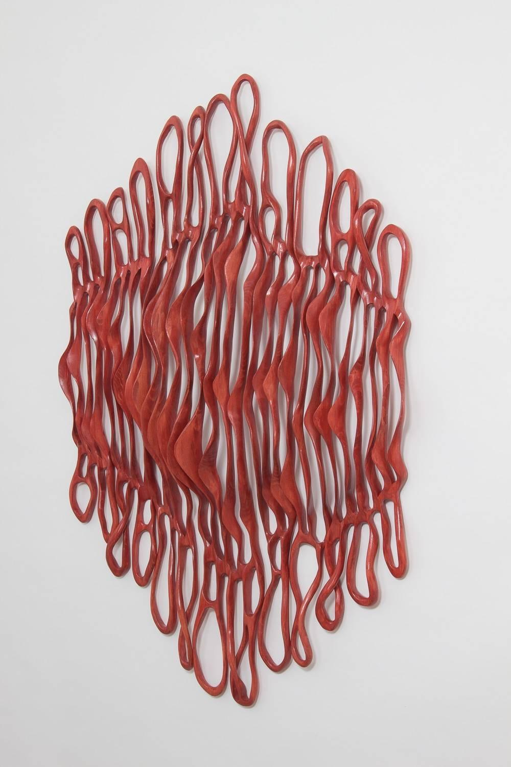 Caprice Pierucci Red Dawn Cascade For Sale At 1stdibs