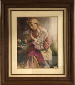 Love-Framed Limited Edition Giclee on Paper, Signed by Artist