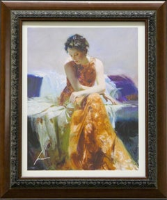 Solace-Framed Limited Edition Giclee on Paper, Signed by Artist