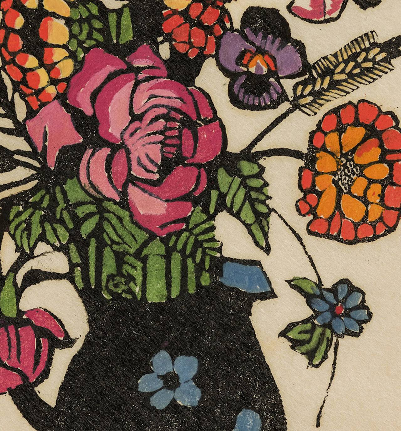 Margaret Preston Flowers in Jug at 1stdibs