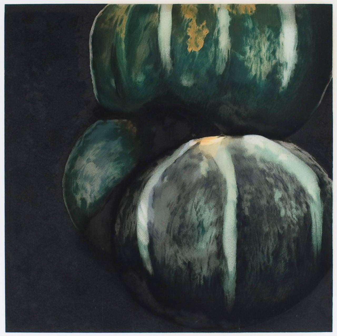 "Donald Sultan, Squash from ""Fruits and Flowers"" , 1991, (54/125), serigraph"