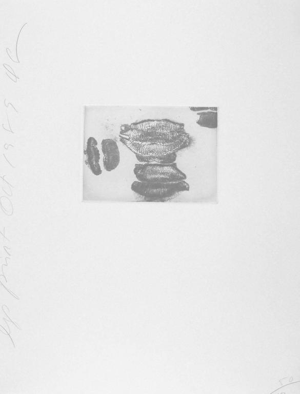 Lip Print #4, 1989 (50/100)