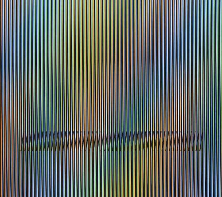 Carlos Cruz-Diez Print - Caura-14