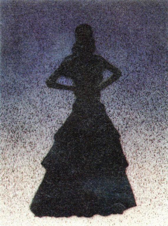 Ed Ruscha - Bailarina  1