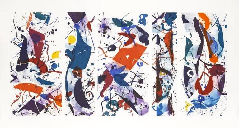 Sam Francis - The Five Continents in Summertime 1