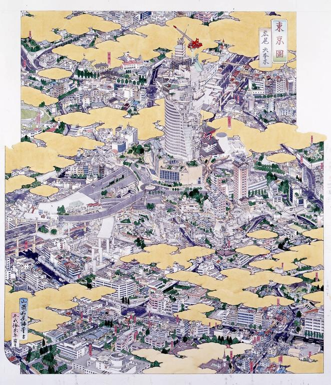 Yamaguchi Akira - Tokei (Tokyo): Hiroo and Roppongi  1