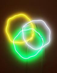 Untitled 3 Neon Wall Sculpture by Frederic Bouffandeau
