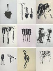 Untitled (folio of 9 tool prints)