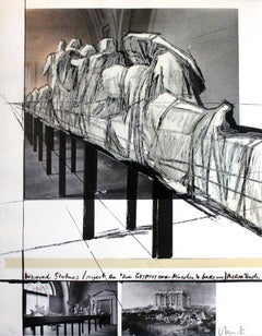 Christo Wrapped Statues, the Glyptothek (Munich)