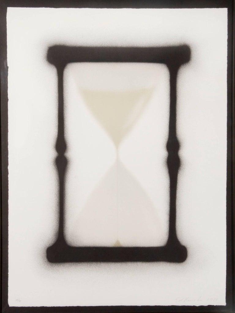 Ed Ruscha Print - Reloj de Arena