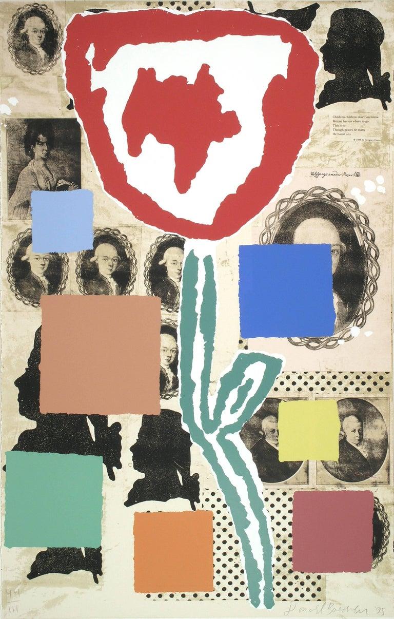 Donald Baechler, Untitled, 1995, (44/111), serigraph - Print by Donald Baechler