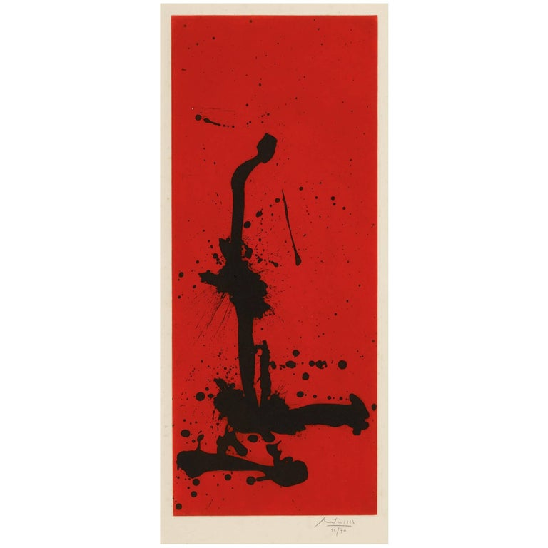 Robert Motherwell - Red Sea III 1