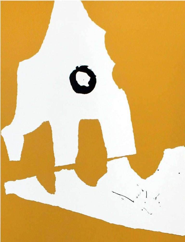Robert Motherwell - Untitled from Ten Works + Ten Painters 1