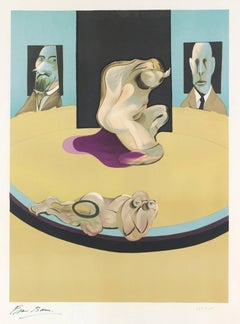 Francis Bacon, Metropolitan Museum of Art, 1975, (196/200) Color lithograph
