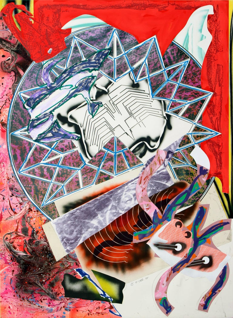 Frank Stella - Squid 1