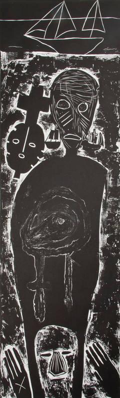 Atlantico IV (Large Figure with Mask), 10/27, 1987