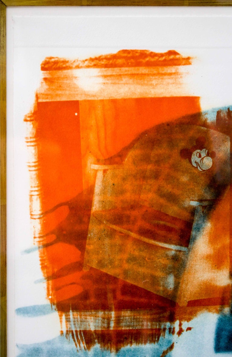 Robert Rauschenberg, Banco, from Ground Rules, 1996, Intaglio,  For Sale 5
