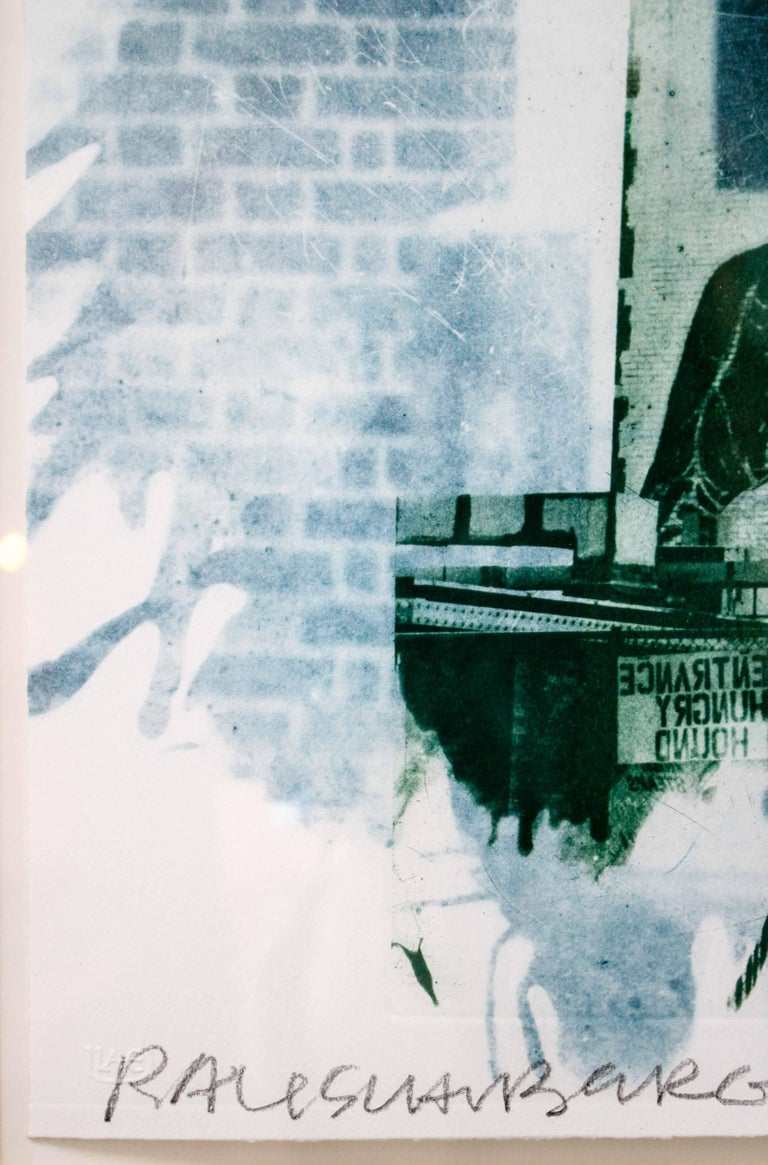 Robert Rauschenberg, Banco, from Ground Rules, 1996, Intaglio,  For Sale 13