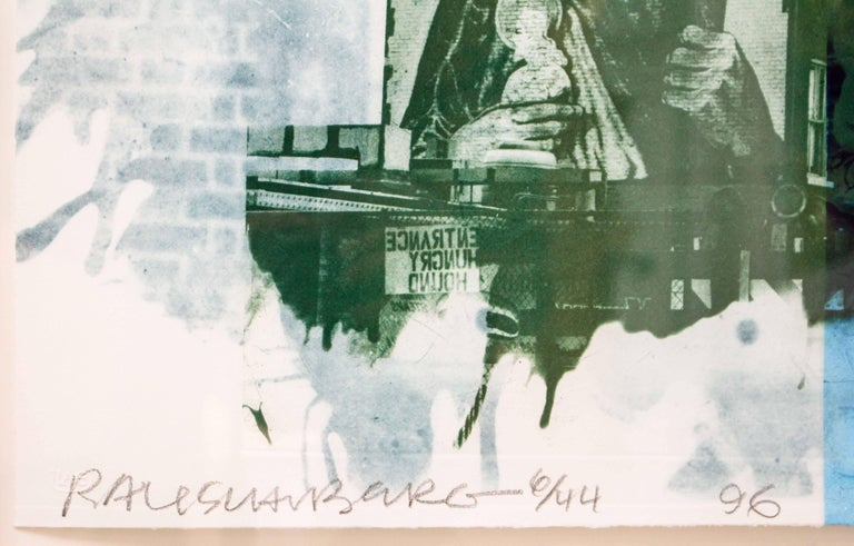 Robert Rauschenberg, Banco, from Ground Rules, 1996, Intaglio,  For Sale 14