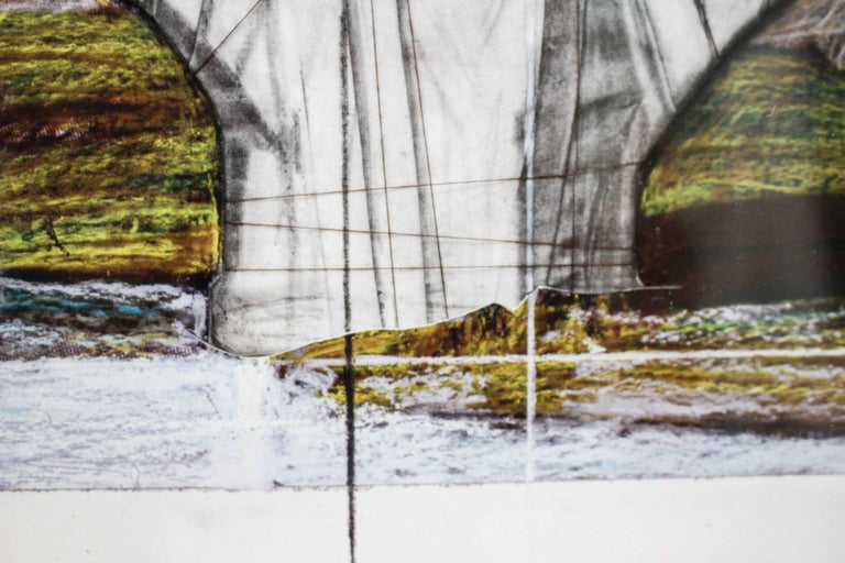 Ponte Sant'Angelo, Wrapped, Project for Rome, 2011, mixed-media  For Sale 12