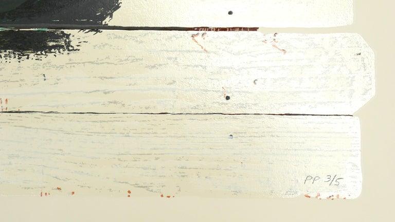 Flexible - Beige Figurative Print by (after) Jean-Michel Basquiat