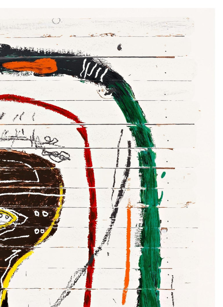 Flexible - Neo-Expressionist Print by (after) Jean-Michel Basquiat