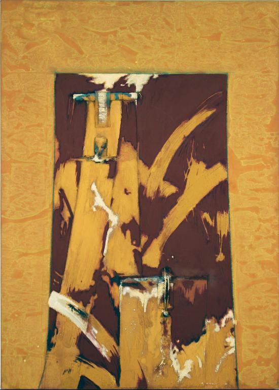 Tiempo Grava II - Painting by Armond Lara