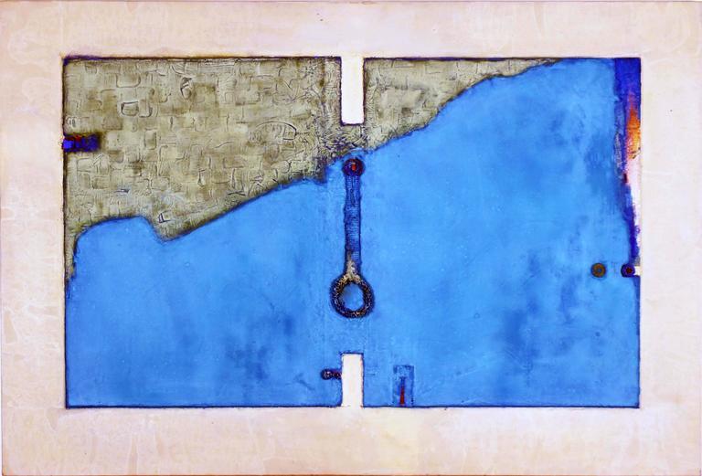 Tiempo Grava v - Painting by Armond Lara
