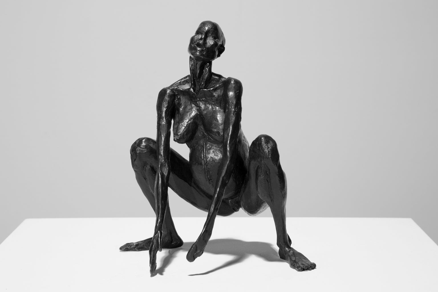 """Birth"" Sculpture, Bronze with Black Patina, Female, Nude"