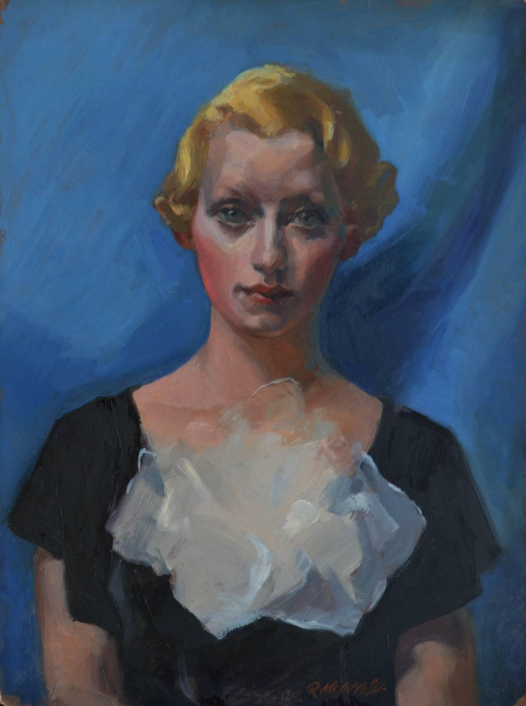 Robert McIntosh Portrait Painting - Camilla