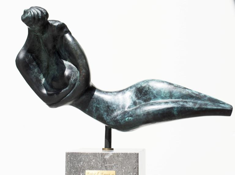 Robert Russin Figurative Sculpture - Thou Art Beautiful, Oh My Love