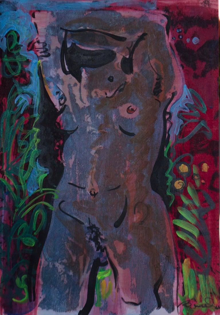 Robert Branham Figurative Painting - Your Island